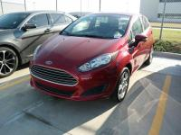 Certified. Ford Fiesta SE Ruby Red Metallic