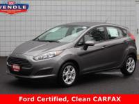 *FORD CERTIFIED*, *CLEAN CAR FAX*. 37/27 Highway/City