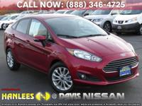 Options:  2014 Ford Fiesta Se|Red|Check Out This 2014
