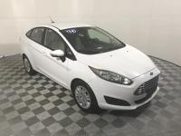 CARFAX One-Owner. Clean CARFAX. White 2014 Ford Fiesta
