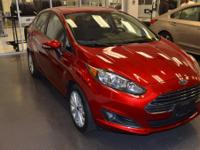 ONE OWNER ACCIDENT FREE. Fiesta SE, FWD, Ruby Red
