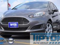 2014 Ford Fiesta in Gray exterior and Charcoal Black