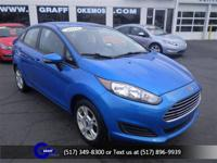 Options:  2014 Ford Fiesta Se|Blue Candy Metallic