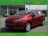 Say hello to your new vehicle, this red 2014 Ford