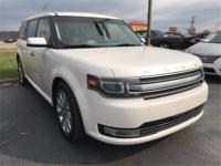 2014 Ford AWD Flex Limited w/EcoBoost White 6-Speed