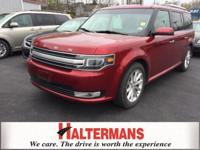 All Wheel Drive! Navigation! This superb 2014 Ford Flex