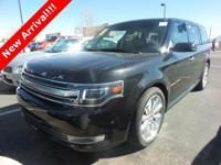2014 Ford Flex Limited Tuxedo Black Metallic. All Wheel