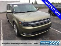 Ginger Ale Metallic 2014 Ford Flex Limited CARFAX