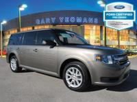 Economic and gas-sipping, this 2014 Ford Flex SE is