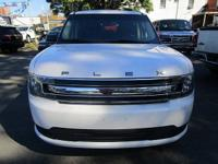 White 2014 Ford Flex SEL AWD 6-Speed Automatic with