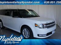 ** 2014 Ford Flex in White AURORA NAPERVILLE**, AWD.