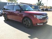 Options:  2014 Ford Flex 4Dr Sel Fwd Used|Red 6-Speed
