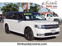 This 2014 Ford Flex SEL features backup sensor, dual