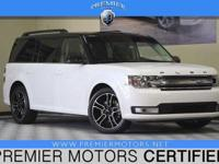 Options:  2014 Ford Flex Sel|White|3.5L V6|Automatic