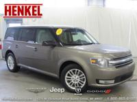 Options:  2014 Ford Flex Sel|Blue|Carfax 1 Owner And