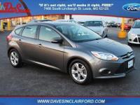 Ford Certified. FWD. Cloth Bucket Seats. SYNC w/