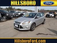 This 2014 Ford Focus 5dr 5dr Hatchback SE Sedan