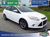 2014 Ford Focus SE 4 Door Sedan 6-Speed Automatic with