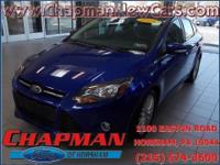 2014 Ford Focus Titanium. Stability and traction
