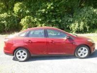 2014 Ford FocusSE Ruby Red Tinted Clearcoat Medium