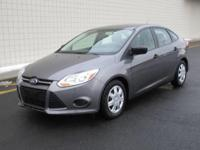 You are looking at a Gray, 2014 Ford Focus. This