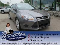 Take a look at this 2014 Ford Focus SE loaded with