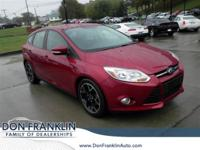 2014 Ford FWD Focus SE Red 5-Speed ManualOdometer is