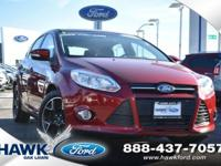 Ruby Red Tinted Clearcoat 2014 Ford Focus SE FWD