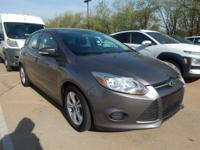 CARFAX One-Owner. Ingot Silver 2014 Ford Focus SE FWD