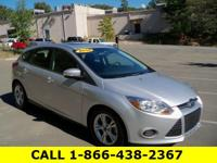 Carfax One-Owner 2014 Ford Focus SE Ingot Silver