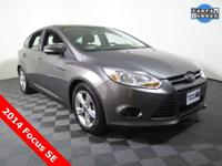2014 Ford Focus SE Hatchback with a 2.0L Engine. Cloth