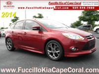 This 2014 Ford Focus 5dr HB SE is offered to you for