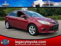 CARFAX One-Owner. BLUETOOTH, Focus SE, 4D Hatchback,