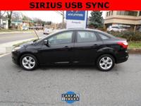 CARFAX One-Owner. Tuxedo Black 2014 Ford Focus SE