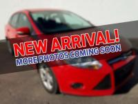CARFAX One-Owner. Race Red 2014 Ford Focus SE FWD