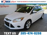 White 2014 Ford Focus SE FWD 5-Speed Manual 2.0L