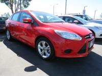 2014 Ford Focus SE in Race Red. Economy smart! Kept in