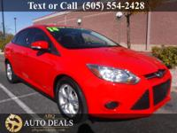 Options:  2014 Ford Focus Meet Our Accident Free 2014