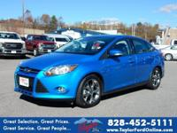 Options:  2014 Ford Focus Se|Se 4Dr Sedan|No Damage