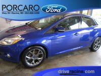 Options:  2014 Ford Focus Se|Blue Candy Tinted