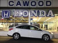Options:  2014 Ford Focus Se|White|6 Speakers|Am/Fm