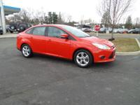 Focus SE, 4D Sedan, 2.0L 4-Cylinder DGI DOHC, and