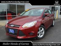 Options:  2014 Ford Focus Se Red/ V4 2.0 L