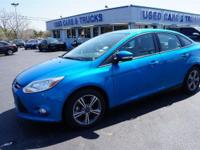 EPA 36 MPG Hwy/26 MPG City! Blue Candy Tinted Clearcoat