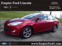 Options:  2014 Ford Focus Se|Se 4Dr Sedan|2.0L|4