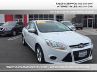 Options:  2014 Ford Focus Se|Oxford White|Charcoal