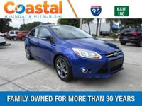 This 2014 Ford Focus SE in Blue features: FWD ABS