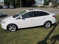 Look at this 2014 Ford Focus!! Great miles, sunroof,