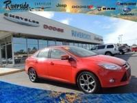 CARFAX One-Owner. 2014 Ford Focus SE Odometer is 38588