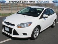 FOCUS ON THIS BARGAIN-PRICED FORD SEDAN IN